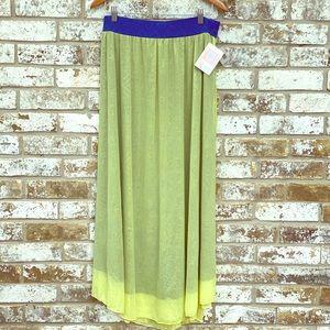 Lularoe Lucy Maxi Skirt NWT Large